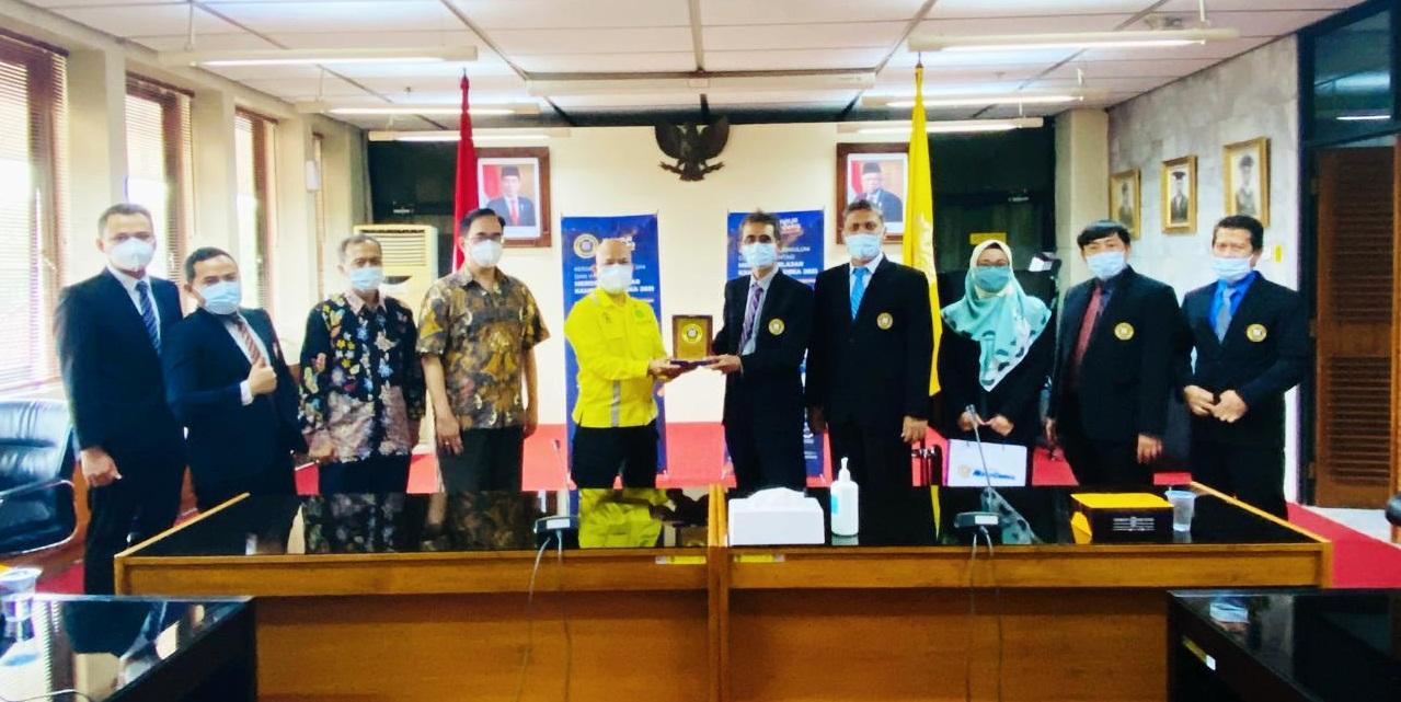 Delegasi Universitas Narotama (UN) Surabaya dalam kunjungan kerja sama ke Universitas Indonesia (UI)